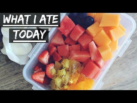 WHAT I ATE TODAY #1 | Vegan, Food for Losing Fat