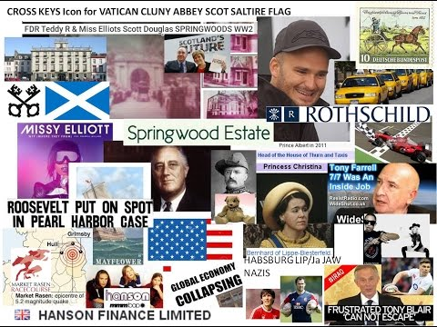FDR Teddy R & Miss Elliots Scott Douglas SPRINGWOODS WW2 Pi PISSoTAKE genocide Blair HANSON Heidelbu