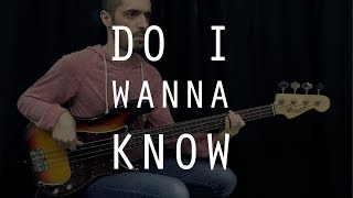 ARCTIC MONKEYS - Do I Wanna Know /// Authentic Bass Cover - Bruno Tauzin