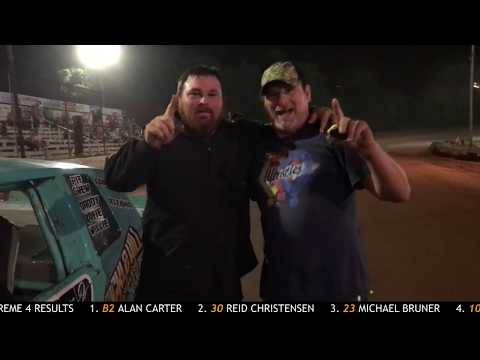 Sumter Speedway Recap 9/7/2019