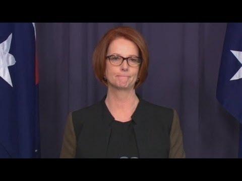 Australian Prime Minister Julia Gillard's Resignation Speech After Being Defeated By Kevin Rudd