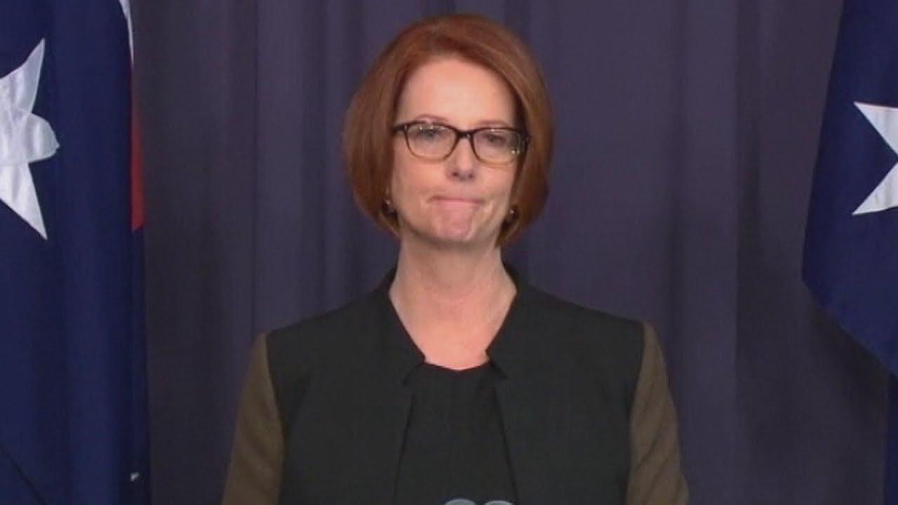 Australian Prime Minister Julia Gillard ...