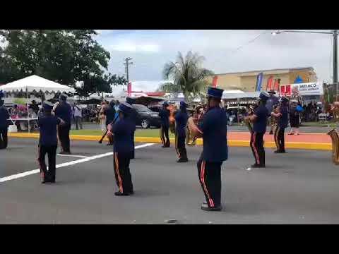 Guam Territorial Band at the 74th Liberation Parade
