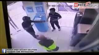 08032015 Armed Robbery At ATM  Kluang  Johor   Malaysia Crime Focus 360