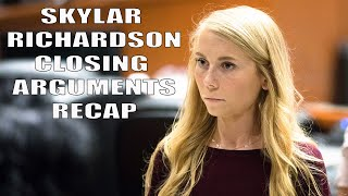 Skylar Richardson Verdict Reaction And Closing Arguments Recap