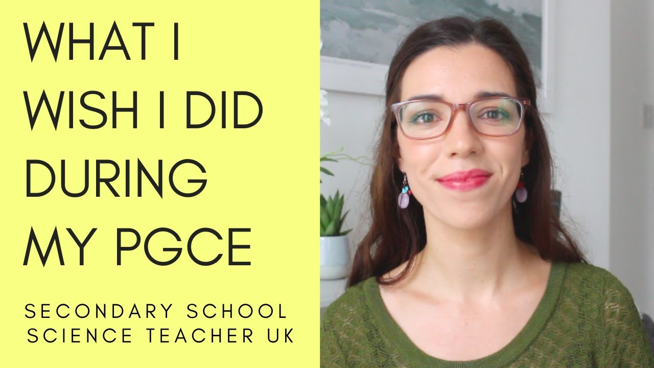 What I wish I did during my PGCE year | Secondary school science teacher UK |