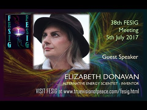 FESIG 38th Meeting with Alternative Energy Scientist Elizabeth Donavan