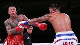 POOR JUDGING: LUIS ARIAS vs GABRIEL ROSADO - FIGHT REVIEW!! NO FOOTAGE!!