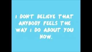 One Direction - Wonderwall (Lyrics on Screen & in Description) [HD]
