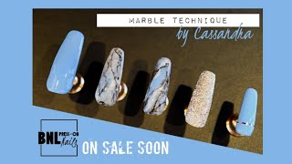 Marble stone nails - Press on nails