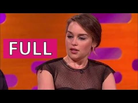 The Graham Norton Show FULL s19e10 part 3/4 Matt LeBlanc, Emilia Clarke, Kate Beckinsale, et al.