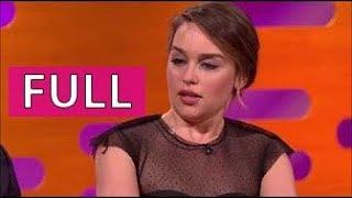 The Graham Norton Show FULL s19e10 part 3/4 Matt LeBlanc, Emilia Clarke, Kate Beckinsale, et al.