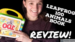 LeapFrog 100 Animals Book Review | Best Learning Toys for 2-3 year old | LeapFrog Toys