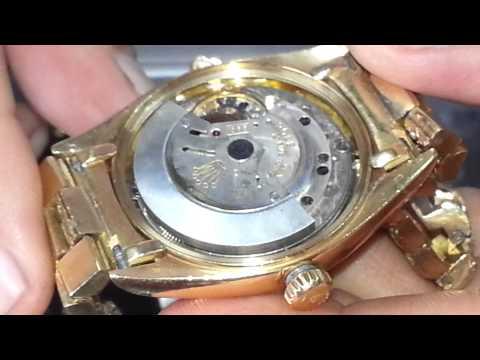 Reloj Rolex Oro 18K con Brillantes, Lluvia Estrellas Màquina Original