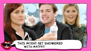 SURPRISE BABY SHOWER ft. MATPAT (The Game Theorists) with Grace Helbig & Mamrie Hart