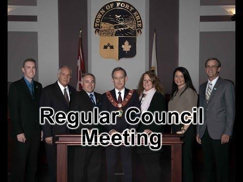 April 9, 2018: Regular Council Meeting