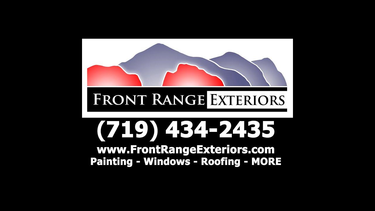 Front Range Exteriors Colorado Springs Painting Roofing Windows Gutters Garage Doors