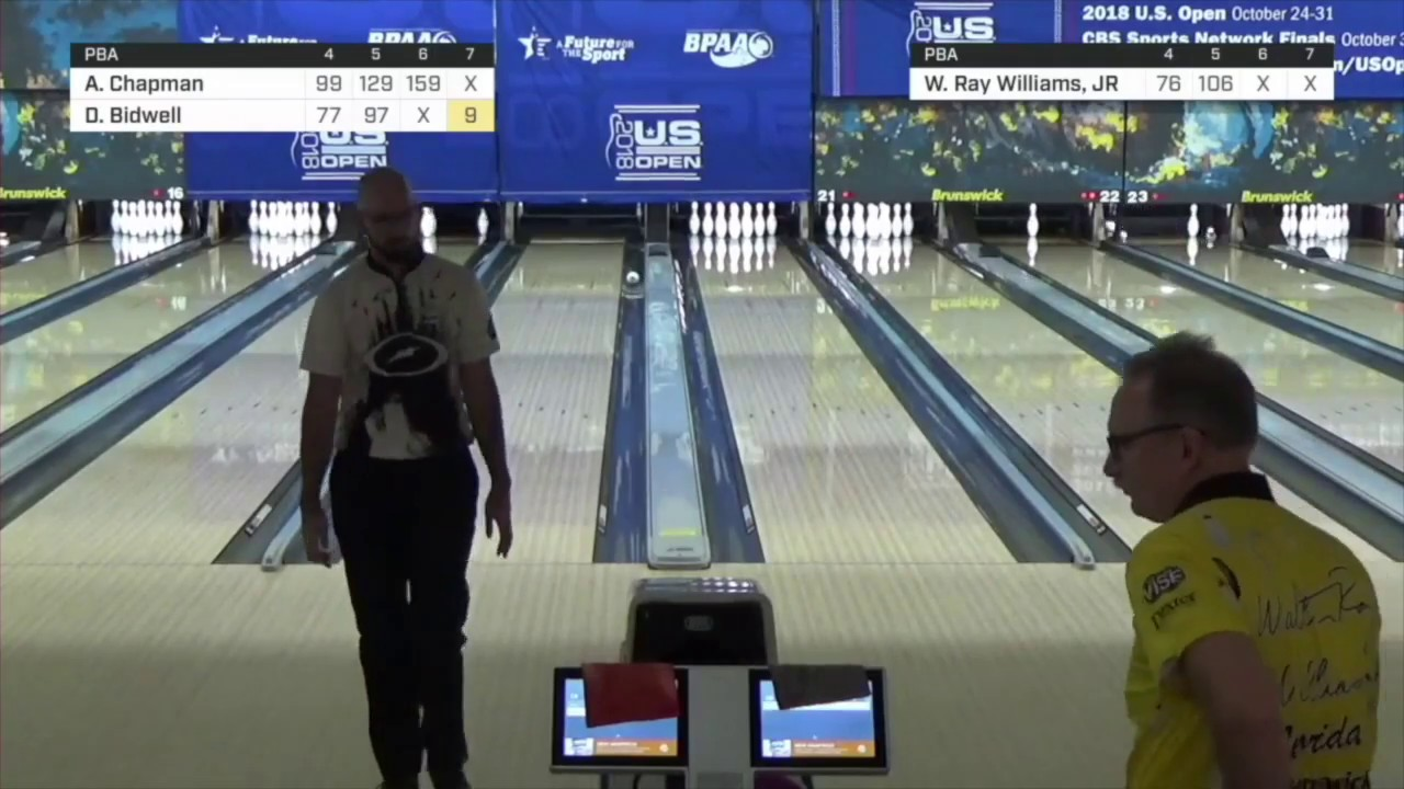 Walter Ray Williams Jr Clears Deadwood With Brunswick Black Diamond Bowling Ball