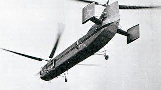 Вертолет Як-24 ведет строительные работы в Екатерининском двоце, разрушенном немцами, Пушкин, 1959(, 2016-01-29T08:12:06.000Z)