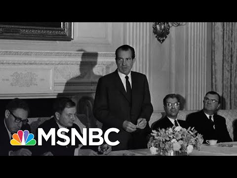 Nixon's Was The Original Presidential Tax Scandal; NYT Shows Trump Paid Even Less | MSNBC