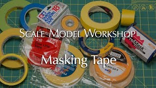 Masking Tape for Scale Modeling