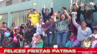 ALCALDE DE HUALMAY EDDIE JARA SALUDA A LA POBLACIÓN POR FIESTAS PATRIAS