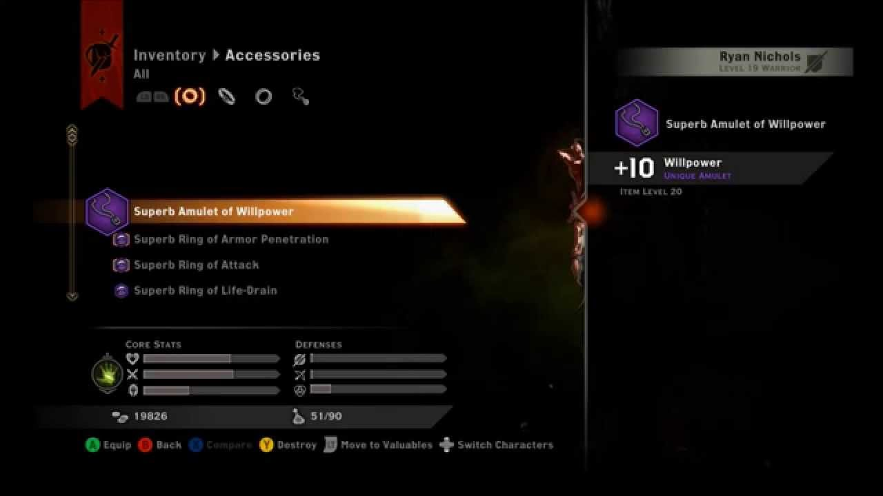 Dragon Age Inquisition Top 5 Best Unique Accessories