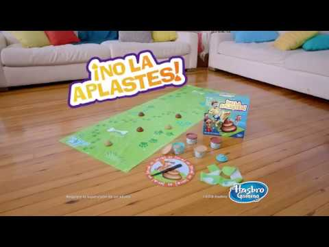 Hasbro Gaming No La Aplastes Juego De Mesa Youtube