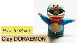 NẶN ĐẤT SÉT P13 | Cách nặn Doreamon | HOW TO MAKE A CLAY DOREAMON