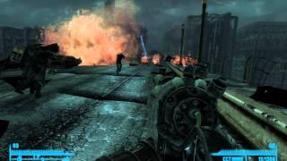 Fallout 3 нападение Братства Стали на Анклав