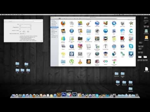 como poner devuelta iconos , programas, apps en el Dock de Mac