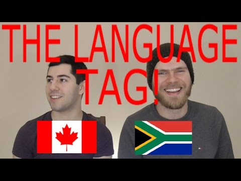 Talking to a SOUTH AFRICAN! Part 1 (The Language Tag)