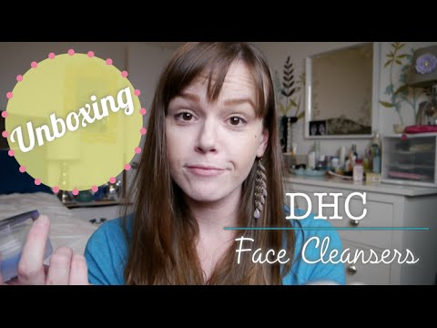 Unboxing My Dhc Order Best Face Cleansers