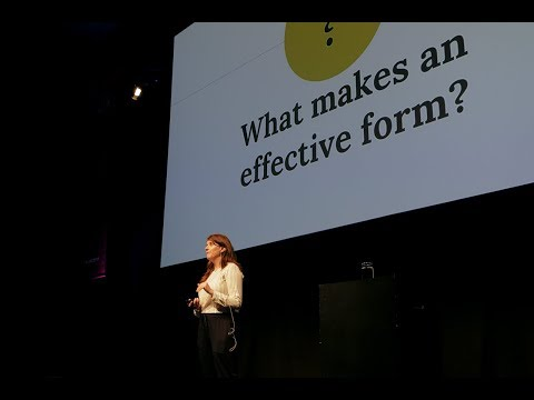 Julie Grundy – The UX of Form Design: Designing an Effective Form