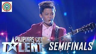 Pilipinas Got Talent Season 5 Live Semifinals: Kurt Philip Espiritu - Singer