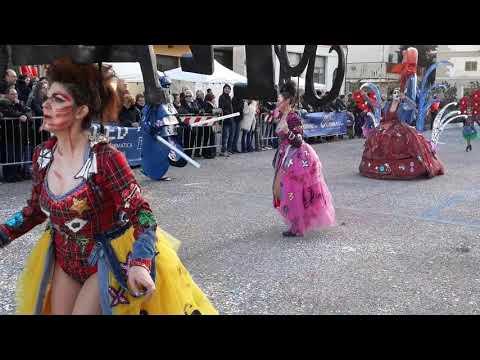 Carnevale Santa Croce sull'Arno 2018 Gruppo Spensierati