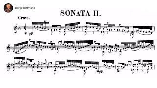 Bach - Violin Sonata No. 2 in A minor, BWV 1003 {Grumiaux}