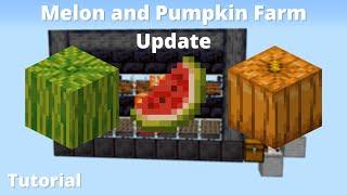 Building a Better Melon and Pumpkin Farm in Minecraft 1.16 [Nether Update]