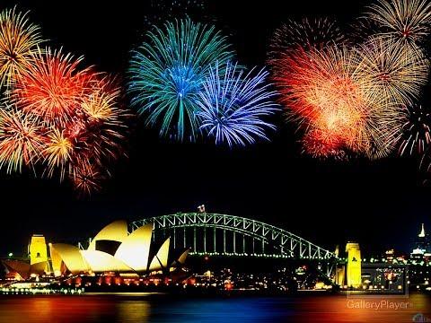 Сидней 2014! Салют HD 720p Sydney
