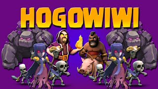 CLASH OF CLANS ITA ATTACK | HOGOWIWI TH9 [GRAX]