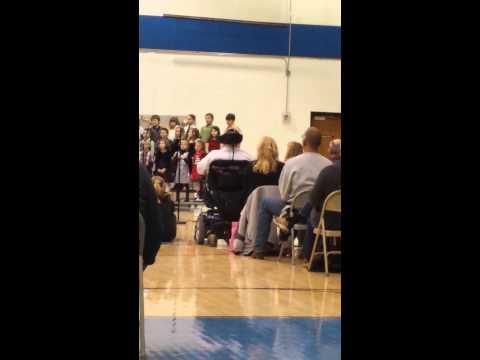 Eastern Hancock Elementary School Christmas 2013(3)