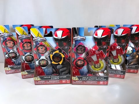 Power Rangers Ninja Steel | Ninja Power Star Packs Wave 1 Review