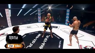 Marcin Najman VS Taxi Złotówa [cała walka] MMA-VIP