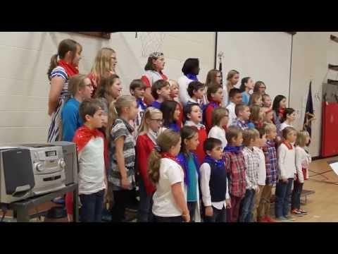 Cynthia Mann Elementary School Choir Honors Our Veterans