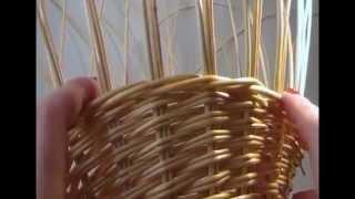 Послойное плетение боковое в 2 прута