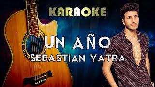 Sebastián Yatra, Reik - Un Año (Acoustic Karaoke Instrumental)