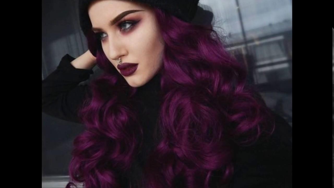 Cabello violeta 2018