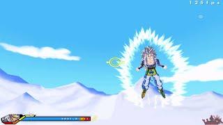 SSJ5 Goku VS God Goku(Red) - DBZ: ZEQ2 Lite Revolution Gold Edition - (PC Gameplay)