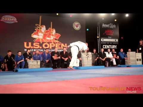 Drew Serrano World Record Breaking at The 2014 US Open ISKA World Championship