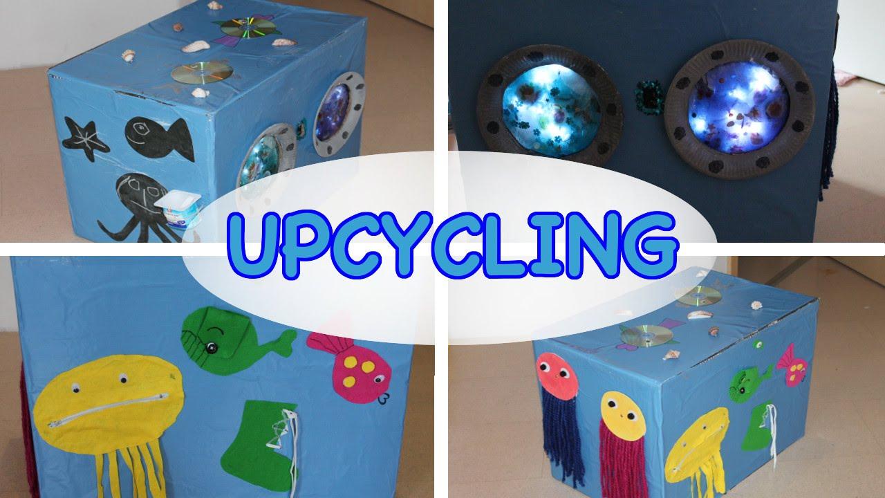 upcycling karton kinderspielzeug selber machen motorikbox unterwasserwelt t glichmama. Black Bedroom Furniture Sets. Home Design Ideas